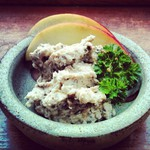 Blue cheese and Winter Chanterelle pate