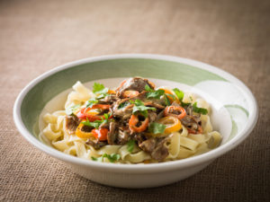Get Funghi porcini with tagliatelle. Image www.robwhitrow.co.uk