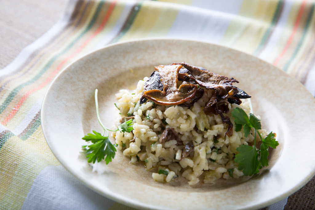 Get Funghi ceps risotto. Image www.robwhitrow.co.uk