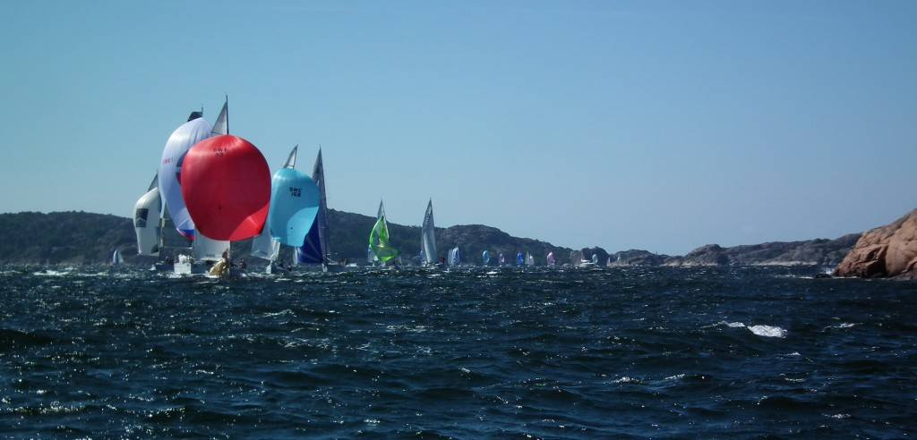 Sailing competition Tjörn Runt in the West Coast archipelago