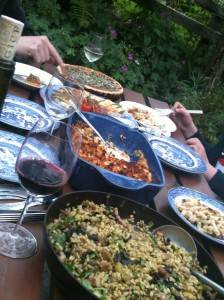 Al fresco summer dining!